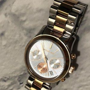 Michael Kors women's metallic watch